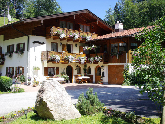 Pension Laroshäusl - Ferien in Berchtesgaden